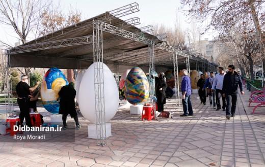 رنگآمیزی تخم مرغهای نوروزی