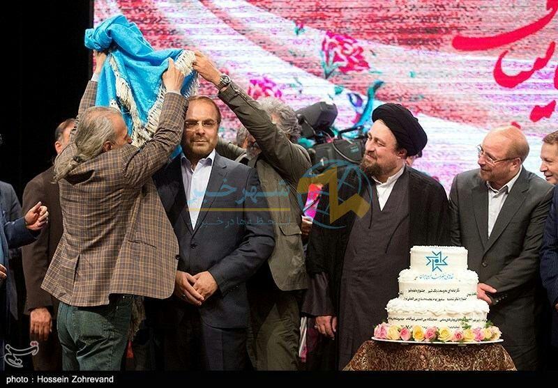رونمایی از مجسمه شهردار سابق تهران