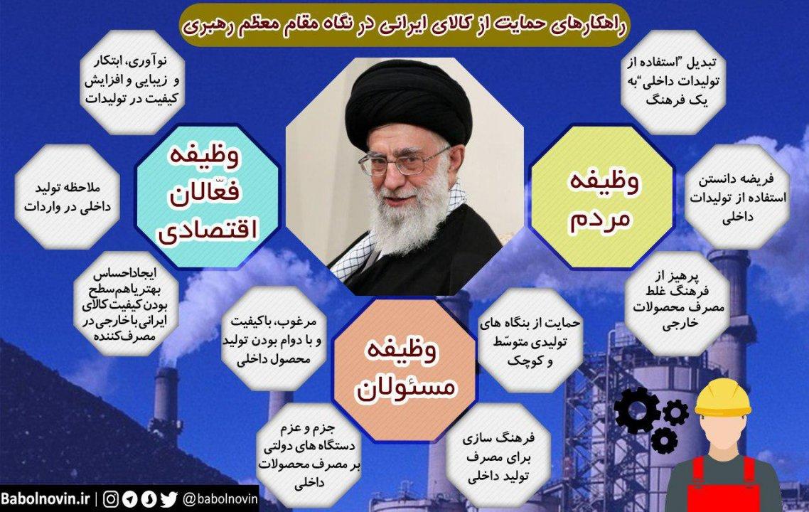خرید کالای ایرانی ؛ افتخار ملی